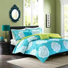 intelligent design bed covers teal blue colored comforters quilts
