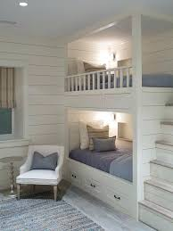 built in bunk beds bed slide with transitional kids dolls and bunks stairs diy loft