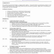 Sample Resume For Bankers Wrenflyers Org