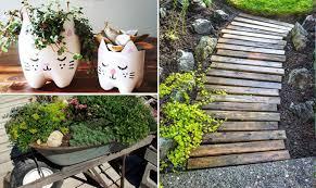 diy low budget garden idea