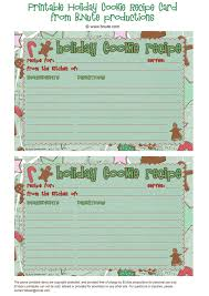 Printable Christmas Recipe Cards Printable Holiday Recipes Download Them Or Print