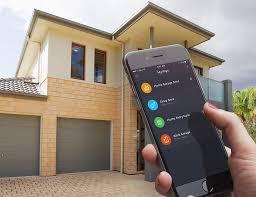 garage door smart phone