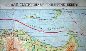 Aaf Cloth Chart History Of Wwii Us Cloth Escape Maps