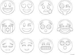 38 Fantastique Concept Coloriage De Emoji Meilleure Page