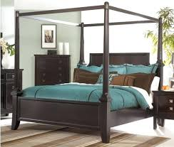 Canopy Bed Frame Canopy Bed Full Size Wood Canopy Bed Frame ...