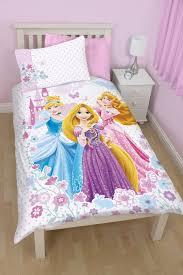 disney princess dreams panel single bed duvet quilt cover set
