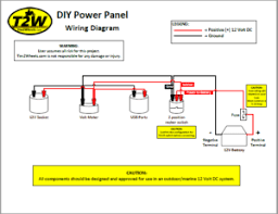 diy power panel wiring diagram tim2wheels diy power panel wiring diagram