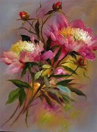 gary jenkins 1962 still life of flowers