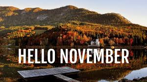 Hello November Welcome November Quotes Sayings Images Wallpapers