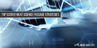 mcat science passage strategies article