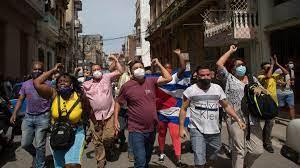 """Wir sterben vor Hunger"""": Landesweite Proteste in Kuba"""