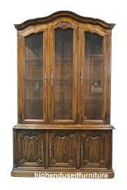 High End China Cabinets High End Used Furniture Drexel Heritage Touraine Iii Country