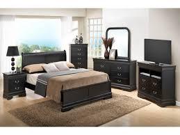 Bedroom: Black Bedroom Furniture Sets Best Of Bedroom Sets Dawson Black  Queen Size Platform Look