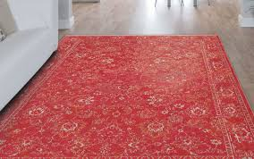 bo bohemian flowers 8910 roskilde red rug