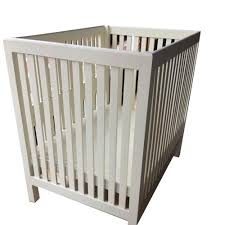 white living roomz wooden cradle