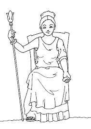 Kleurplaat Hera Coloring Page
