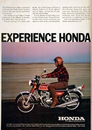 vintage honda motorcycle ads. 1973 honda 350 four motorcycle with hydraulic disc brakes up front advanced instrumentation racingtype carbs and power smoothness you have to vintage ads l