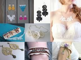lace jewelry diy ideas