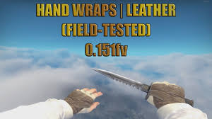 hand wraps leather field tested 0 151fv cs go showcase 1