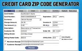 Access - Code Does Generator It Zip Card Credit Work With How