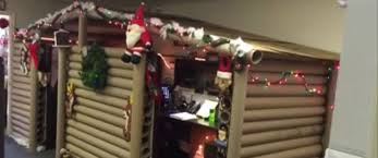 cubicle lighting. custom cubicle decorations to improve your mondays office gets transformed into cozy christmas lighting o