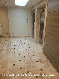 black marble floor tiles. Travertine \u0026 Black Marble Tiles Floor S