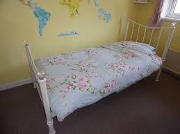 womens bedroom furniture. Cream Metal Single Bed Frame Girls Or Ladies Bedroom Furniture Womens F