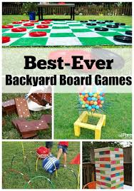Best-Ever Backyard Board games! Have fun with the whole family outdoors  this summer