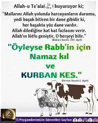kurban bayramı   Ilham veren alıntılar, Özlü sözler, Güzel söz