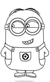 Disegno Minions09 Personaggio Cartone Animato Da Colorare