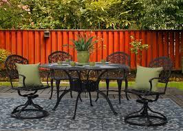 tuscany 5 piece cast aluminum outdoor patio furniture dining set jpg