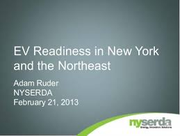 EV Readiness in New York and the Northeast