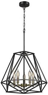 vintage globe electric sansa 5 light dark bronze chandelier decor artisan 692622705076