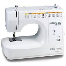 Euro Pro Deluxe Denim And Silk Sewing Machine Manual