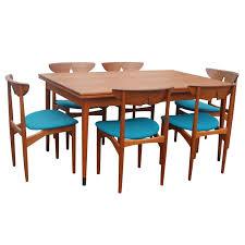 three kurt ostervig adorable scandinavian teak dining room furniture