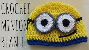 Minion Hat Crochet Pattern Amazing Minion Beanie Crochet Pattern Character Creation Tutorial YouTube