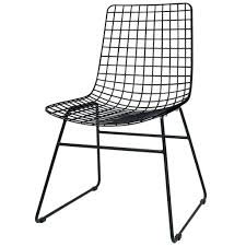 black metal dining chairs. Modren Metal This Metal Wire Chair Feed HKliving Black Is A Very Nice Reason For  At Your Table Take An Exciting Mix With The Other HKLiving Dining Chairs  With Black Metal E