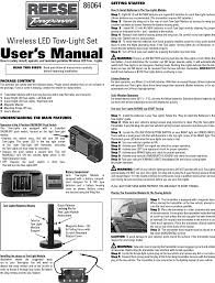 wtl20023 wireless tow light transceiver user manual users manual 12 Volt Battery Harness page 1 of wtl20023 wireless tow light transceiver user manual users manual wireless tow lights,