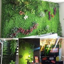40 60 cm home decor grass mat green artificial lawns plant wall wedding decoration greenery plastic fake flowers 7a0237 stickers wall art stickers