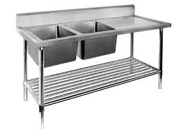 restaurant prep table with sink 1 2 3 sinks stainless steel sink table