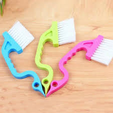 details about 2x cleaning tools window track shower door clean brush home kitchen brushes