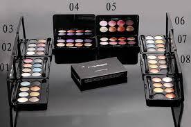 mac 8 color eyeshadow brush 10 mac professional makeup kits mac makeup