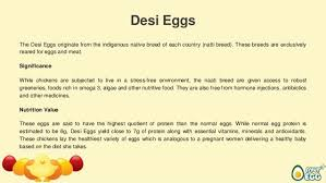 Chicken Egg Nutrition Chart Types Of Eggs Based On Their Nutrition Value Significance