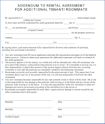 Sample Room For Rent Contract Template Rental Agreement Template Word Doc Basic Room With 17