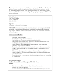 Resume Concierge Job Description Resume Wpazo Resume For Everyone