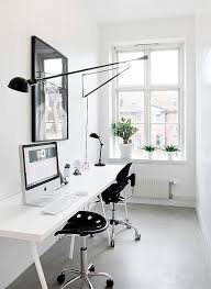 black white home office inspiration. Black And White Home Office OFFICE DECOR DESK STYLE Pinterest In Plans 2 Inspiration