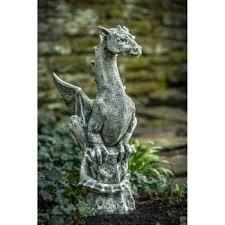 large garden statues cast stone large dragon garden statue large resin garden statues uk
