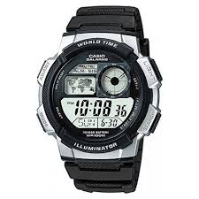 buy casio men s watches at argos co uk your online shop for more details on casio men s lcd world time strap watch