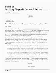 security deposit refund receipt exles sle security deposit refund letter format