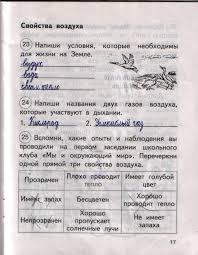 ГДЗ рабочая тетрадь по окружающему миру класс Федотова Трафимов Часть 1